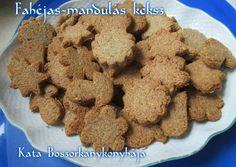 Fahéjas-mandulás keksz (Gluténmentes)