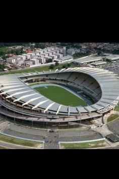 Olimpico do Para. 45.000 pers., Para. Paysandu SC, Remo, Belem. Abierto en 1978. Brasil