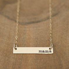 Mama necklace :)