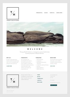 Very clean web design.