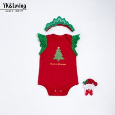 5cf0ac93e29 Baby Girl Cotton Without Christmas Lace Wing Romper 0 2 Years Old Baby Girl Children s  Clothing