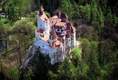 The Bran Castle, Romania, is known worldwide for the famous legend of Count Dracula.