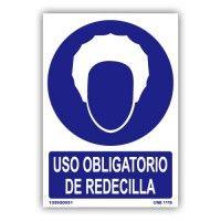 """Señal """"Uso Obligatorio Redecilla"""""""