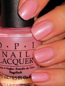 OPI Suzi the Lifeguard my fav OPI color just did my nails in this today!