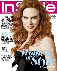 Nicole Kidman - InStyle Australia June 2013