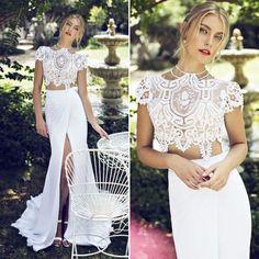 10 vestidos de noiva cropped - Constance Zahn