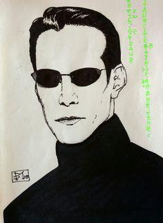 Neo Matrix  Keanu Revees