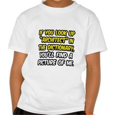Architect In DictionaryMy Picture T Shirt, Hoodie Sweatshirt