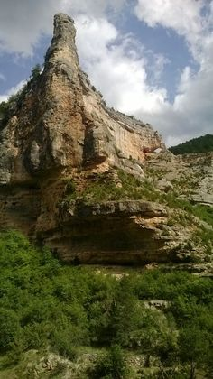 Río Pitarque en el Maestrazgo Turolense.