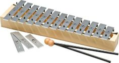 Sonor Primary Line FSC Soprano Glockenspiel Diatonic by Sonor. $125.00. The Primary Line FSC Soprano Glockenspiel features 16 metal bars and a birch resonator box. The note range is C3 to A4 with two F# and one Bb included. The Glockenspiel is an excellent tool for elementary school music education. Comes with a pair of SCH 95 mallets.Primary Line offers the most Orff (tone bar) instruments manufactured of wood from FSC (Forest Stewardship Council) certified fores...