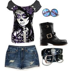 """""""Succubus"""" by tiffany-psychward on Polyvore"""