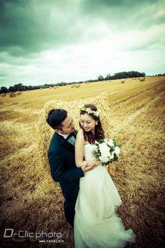 Photo des champs mariage