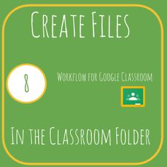 There is nothing magical about the Google Classroom folders in Google Drive. You are able to add documents to the files without messing up Google Classroom. Note that any files added to the Google …