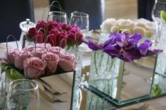 21st Birthday Dinner Party Flowers