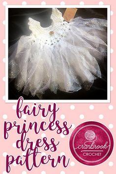 f26b955b85859 Fairy Princess Dress pattern by Shari Reid