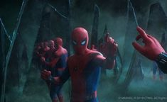 For Marvel Studios' Spider-Man: Far From Home, we took on the dazzling 'Illusion Battle,' a mesmirising sequence which sees Mysterio play on Peter's very wor. Marvel E Dc, Marvel Heroes, Marvel Characters, Marvel Avengers, Marvel Comics, Spiderman Marvel, Spiderman Theme, Amazing Spiderman, Marvel Funny