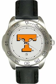 Tennessee Volunteers (University of) Mens Leather Sports Watch by SunTime. $44.99