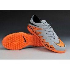 half off f6655 68c34 Oferta Nike Hypervenom Phantom II Luz reflectante TF Gris Naranja  zapatillas de fútbol baratas Botas De