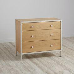 Larkin 3-Drawer Dresser (Stone)  | The Land of Nod