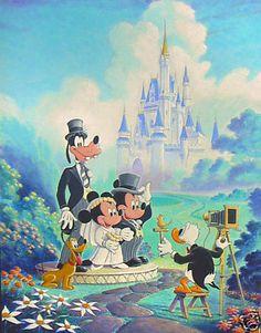 Mickey and Minnie Wedding