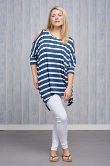 Belle Love Italy Stripe Jersey Top £24.00 Striped Jersey, White Jeans, Italy, Pants, Tops, Fashion, Trouser Pants, Moda, Italia