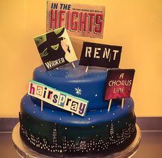 I love Broadway cake! ❤️❤️❤️