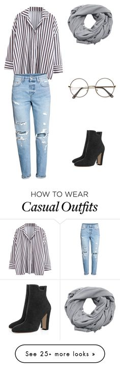 """Classy and casual"" by pmeyler on Polyvore featuring H&M and MANGO"