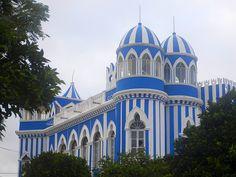 Castillo Azul (Bleu Castle) in Tarija