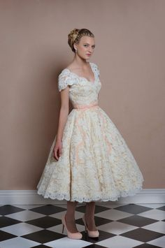 Lark Bridal vintage dress