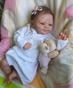 Reborn baby doll Charlotte - kit Coco Malu by Eliza Marx SOLD OUT