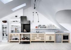 Kitchen: Swedish Loft