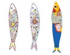 sea life - sea life photography - sea life underwater - sea life artwork - sea life watercolor sea l Abstract Art For Kids, Art Kids, Ephemeral Art, Wood Fish, Fish Design, Fish Art, Punch Art, Work Inspiration, Doodle Art