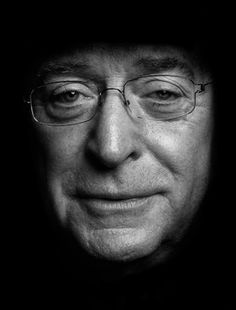 Michael Caine by Clive Arrowsmith