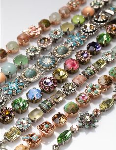 Mariana Jewelry: Swarovski crystals, gem stones, Israel Spirit of Design necklaces bracelets earrings < Carried by Johnathan Michael's Boutique in Jeannette
