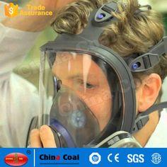 6800 Full Facepiece Reusable Respirator Silicone Gas Face Mask Gas Mask For Sale, Gas Face, Zombie Apocalypse Survival, Cyberpunk