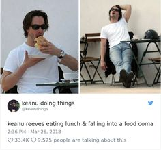 The Internet Can't Stop Laughing At Keanu Reeves Doing Things (26 Pics)