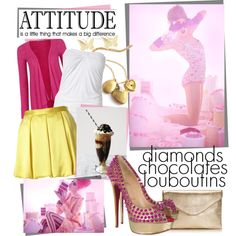 All day long, created by lootuska on Polyvore Attitude, Shoe Bag, Day, Polyvore, How To Make, Stuff To Buy, Shopping, Collection, Design