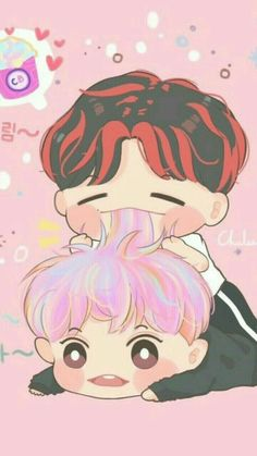 Exo chanyeol and baekhyun The war Kokobop Chanbaek Fanart, Baekhyun Fanart, Exo Chanbaek, Kpop Fanart, Kpop Exo, Otp, Exo Cartoon, Exo Anime, Exo Couple