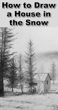 Pine tree drawing pencil art tutorials 16 New ideas Landscape Drawing Tutorial, Landscape Sketch, Landscape Drawings, Landscape Art, Fantasy Landscape, Landscapes, Drawing Skills, Drawing Techniques, How To Draw Snow