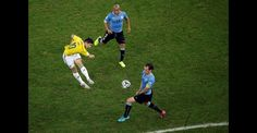 Así capturaron las cámaras los goles y las celebraciones de James ante Uruguay | Copa mundial de la FIFA Brasil 2014