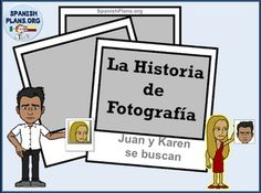 This TPRS Story is based on the Juanes song Fotografia. It includes a story that teachers the structures Busca, llama, y (no) esta. The story is based on the meaning of the song Fotografia between the distance between a couple who must resort to looking at a photo when they can't be together.Includes 2 PDF files plus the 2 powerpoint files so you can edit any part of this product!