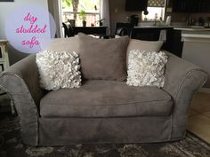 #diy studded furniture