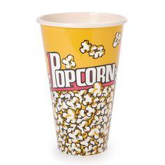 Plastic Popcorn Tub for kids movie night