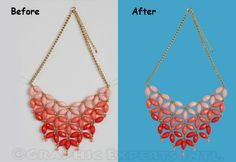 Photo shop Clipping path/Background Removal service of Graphic Experts Intl.(GEI)