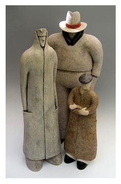 'The Clandestines' by Fred Yokel. #plocomiPottery