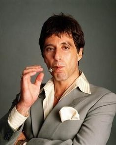 Al Pacino, a.k.a. Tony Montana, a.k.a. Scarface