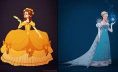 If Disney Princess Dresses Were Historically Accurate   - Seventeen.com
