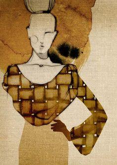 Silhouettes by Ekaterina Koroleva, via Behance