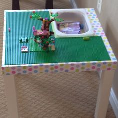 Madeleine's Lack Lego Table