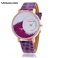 Vansvar Trend Leather-based Strap Ladies Rhinestone Wrist Watch Informal Ladies Costume Watches Watched Sizzling Relogio Feminino BW656 http://www.onlysilvershop.com/